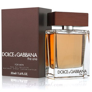 D&G The One Cologne For Men Page